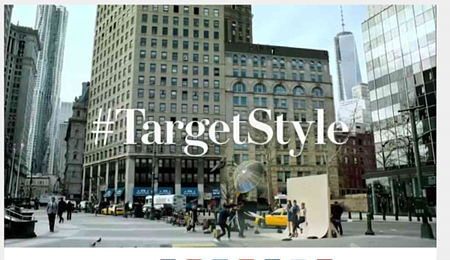 Target using hashtags