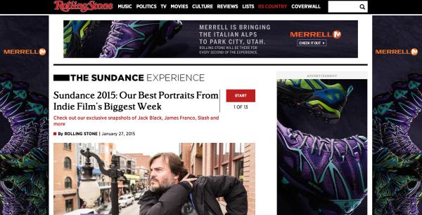 Rolling Stone website