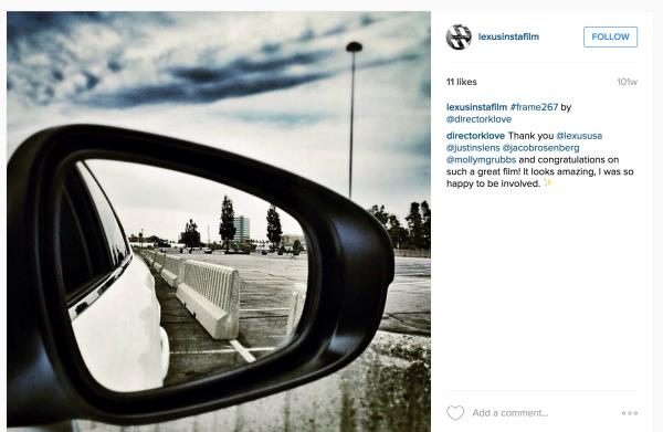 Lexus Instagram resized 600