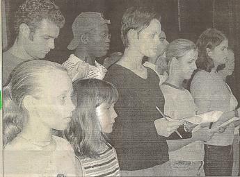 Tituss Burgess in 2000